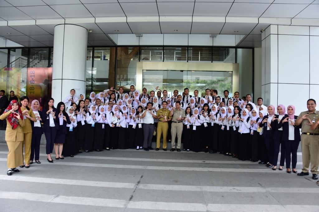 Belajar Nilai-Nilai Dasar ASN di Mal Pelayanan Publik  Pemprov. DKI Jakarta