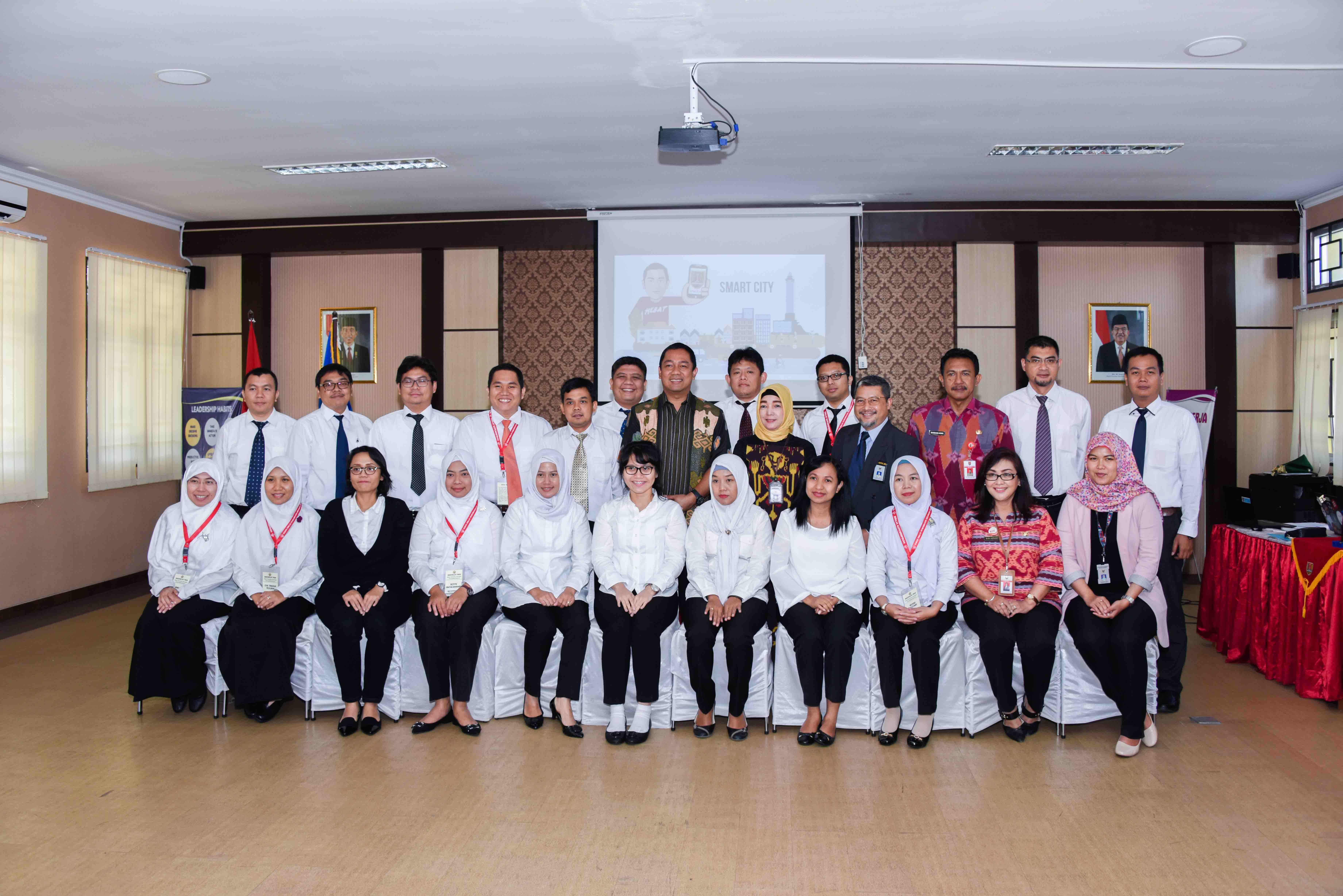 Benchmarking Diklatpim Tingkat IV Angkatan I Tahun 2018 ke Pemkot Semarang: Terapkan 3T untuk Majukan Semarang