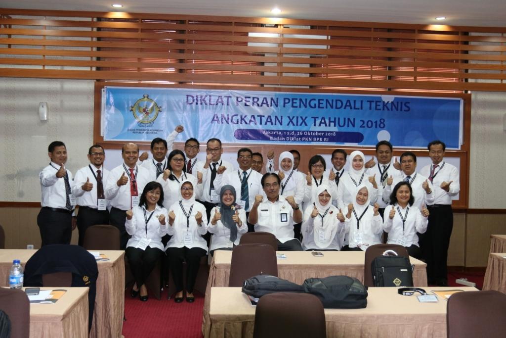 Pembukaan Diklat Peran Pengendali Teknis Angkatan XIX Tahun 2018