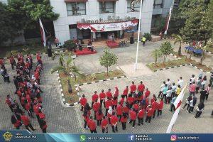 Rintis Green Office : Badiklat PKN BPK RI Pungut 0,2 Ton Sampah Plastik